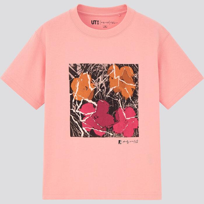 「Andy Warhol × Kosuke Kawamura UT」キッズTシャツ ©/®/™ The Andy Warhol Foundation for the Visual Arts, Inc.  ©Kosuke Kawamura