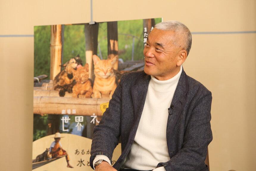 岩合光昭監督 ©「劇場版 岩合光昭の世界ネコ歩き 2」製作委員会 ©Mitsuaki Iwago