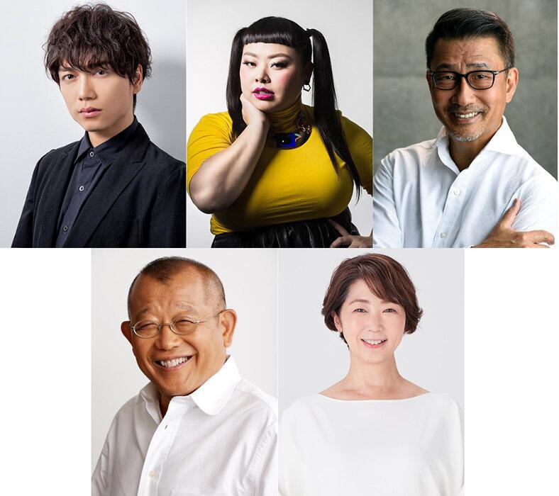 山崎育三郎、渡辺直美、中井貴一が鶴瓶と即興芝居『スジナシシアター』