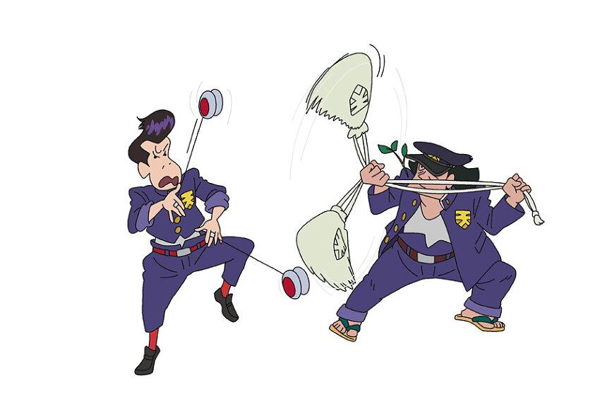 『映画クレヨンしんちゃん 謎メキ!花の天カス学園』 ©臼井儀人/双葉社・シンエイ・テレビ朝日・ADK 2021