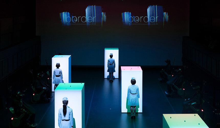 2015年、東京・スパイラルホールで発表した『border』
