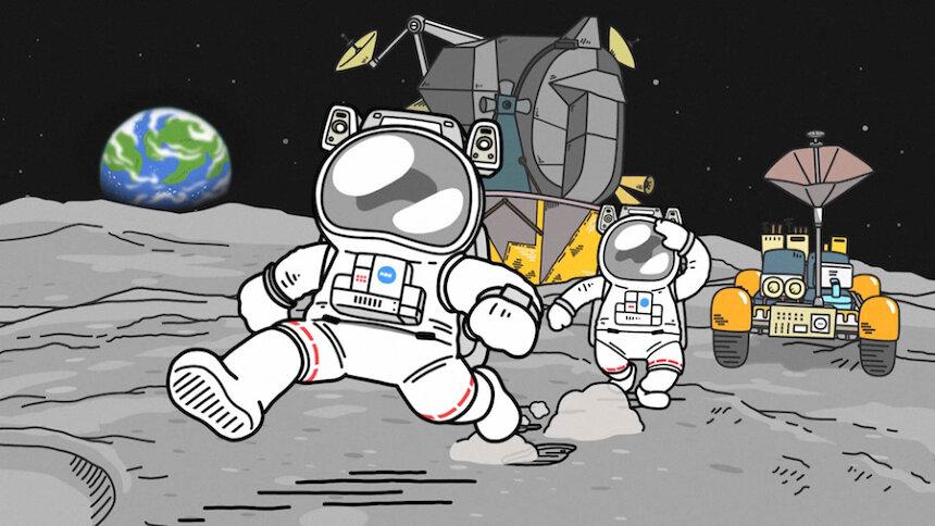 『宇宙なんちゃら こてつくん』 ©2021 Space Academy/ちょっくら月まで委員会