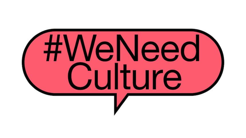 「WeNeedCulture」ロゴ