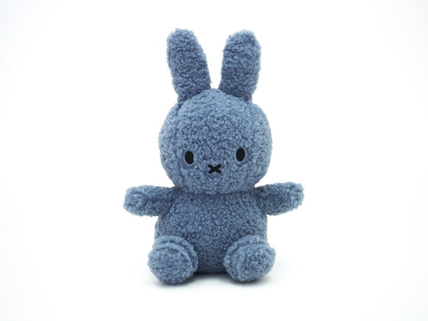 Miffy Recycle Teddy(blue)