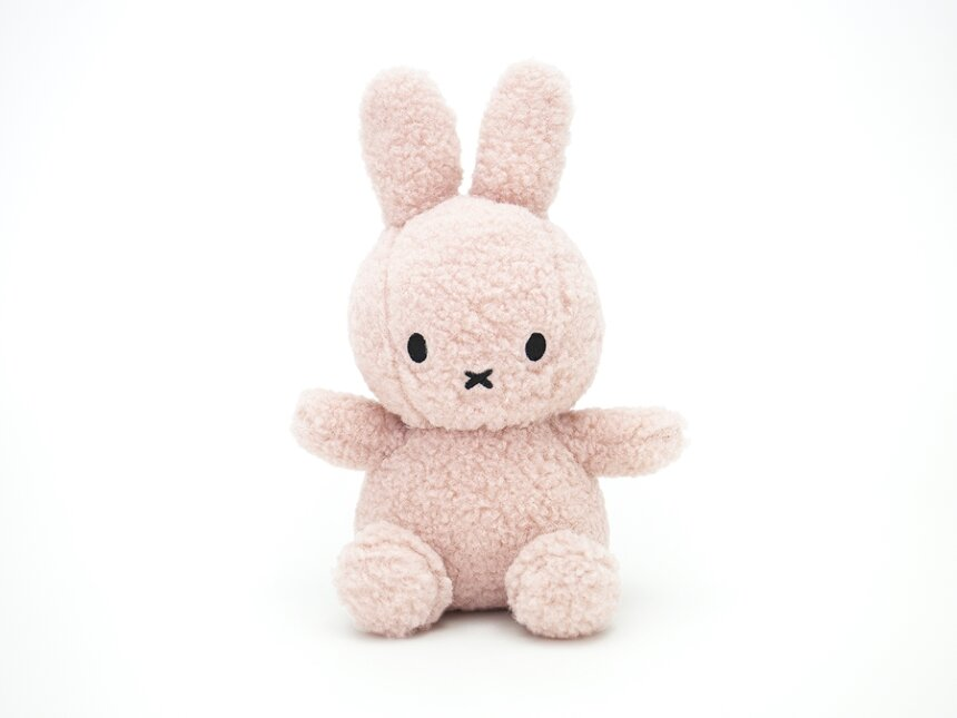 Miffy Recycle Teddy(pink)