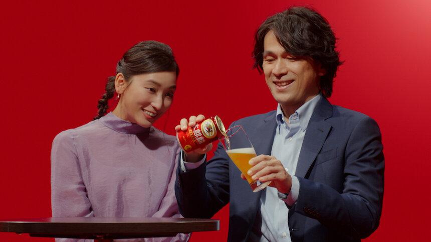 キリンビール「本麒麟」新CM「タモリさん 超えたね」篇より