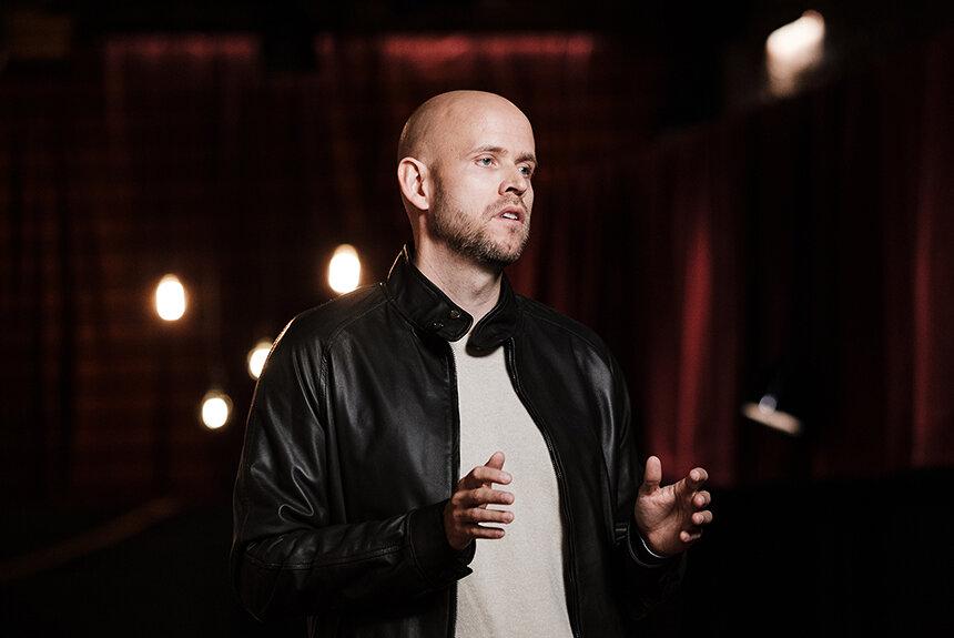Spotify創業者のスピーチ「アーティストとファンが繋がる場所に」