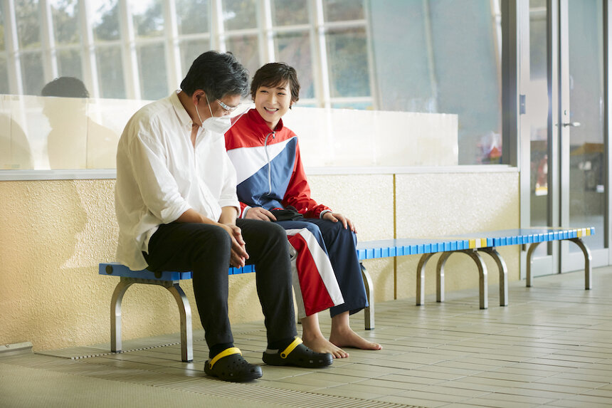 是枝裕和監督と池江璃花子選手