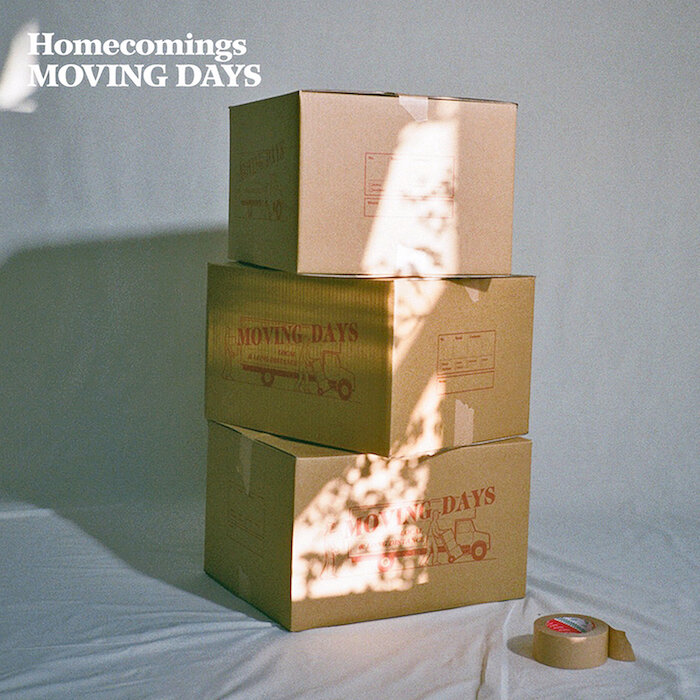 Homecomings『Moving Days』通常盤ジャケット