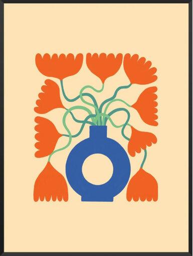 北欧の春の花の代表格チューリップをモチーフにした「SPRING TULIPS」