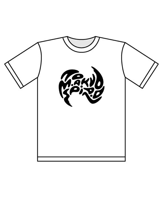 【TOKYO M.A.A.D SPIN②】 J-WAVE #音楽を止めるな Tシャツ / ホワイト