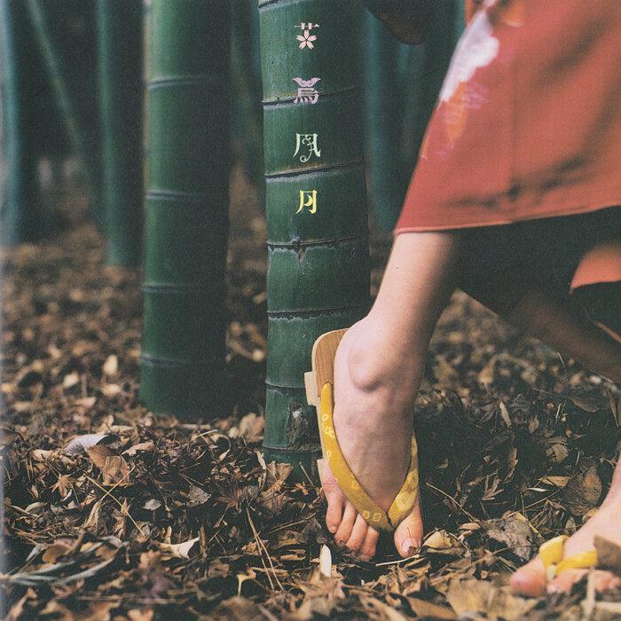 スピッツ『花鳥風月+』CDジャケット