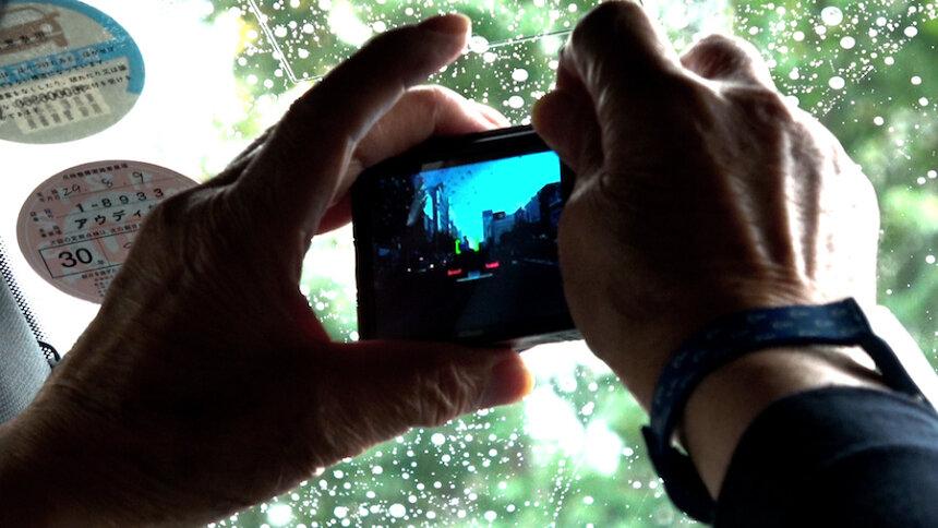 『過去はいつも新しく、未来はつねに懐かしい 写真家 森山大道』 ©『過去はいつも新しく、未来はつねに懐かしい』フィルムパートナーズ