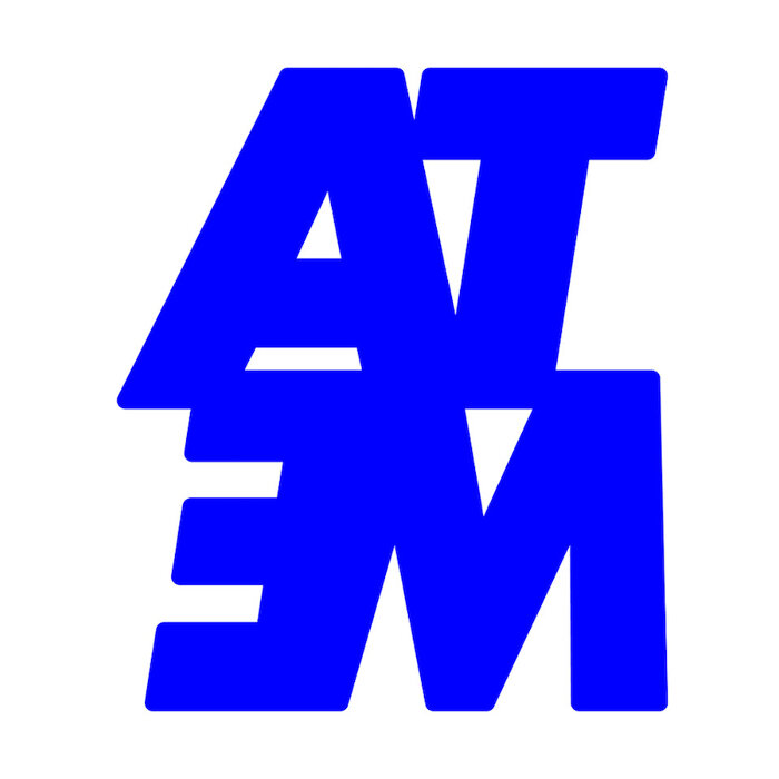 『METAATEM』キーホルダー画像 ロゴキーホルダーの色は透明ブルーの予定ですが、変更の可能性があります