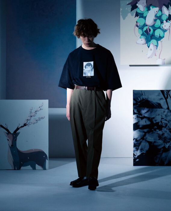 須田景凪×GUコラボレーションコレクション キービジュアル