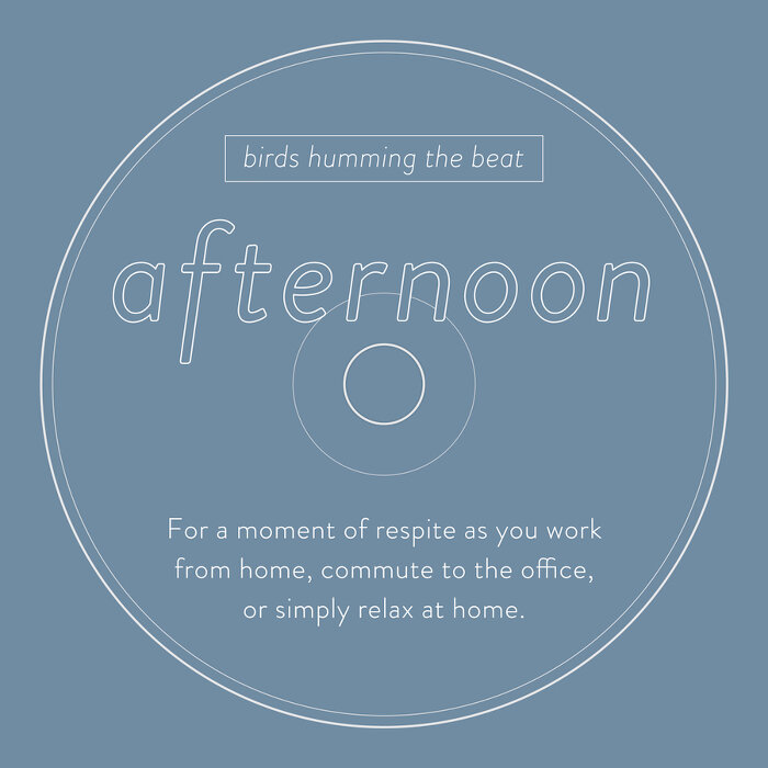 birds humming the beat『afternoon』ジャケット