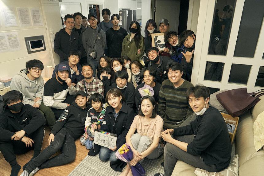 『アジアの天使』クランクアップ時の様子 ©2021 The Asian Angel Film Partners