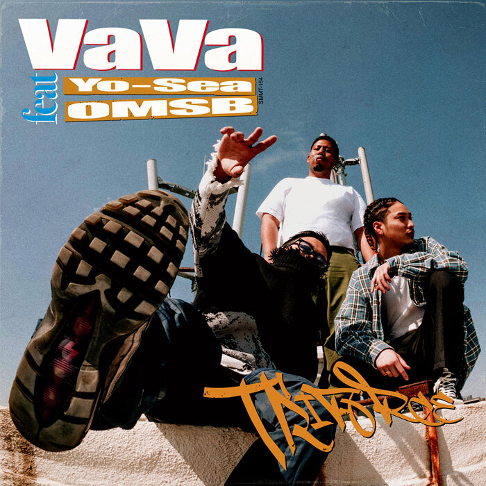 VaVa『Triforce feat. Yo-Sea, OMSB』ジャケット