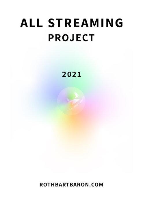 『ROTH BART BARON ALL STREAMING PROJECT 2021 〜6th album in progress〜』ビジュアル