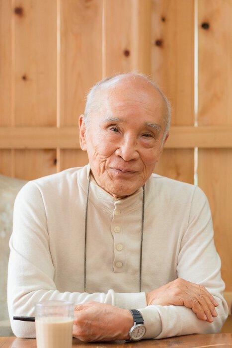 谷川俊太郎(撮影:深堀瑞穂)