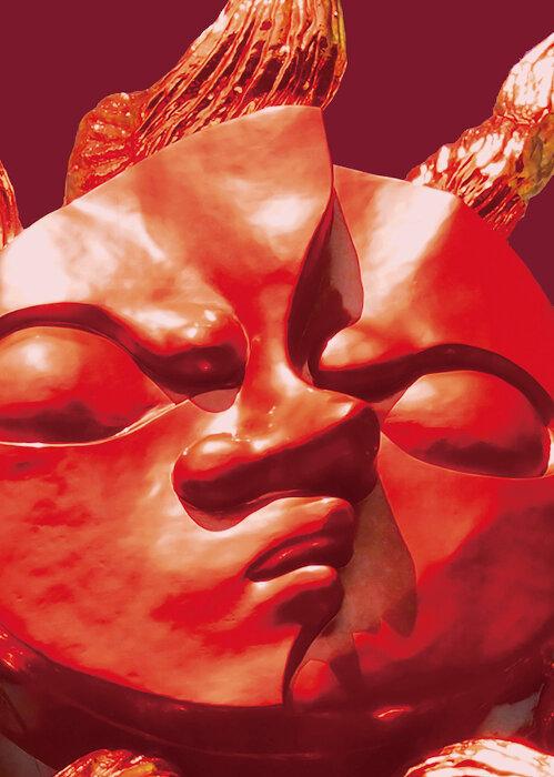 岡本太郎『若い太陽の顔』