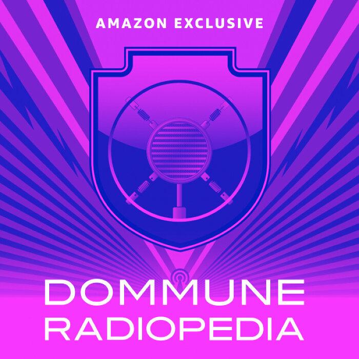 『AMAZON EXCLUSIVE「DOMMUNE RADIOPEDIA」超文化大百科!!』ロゴ