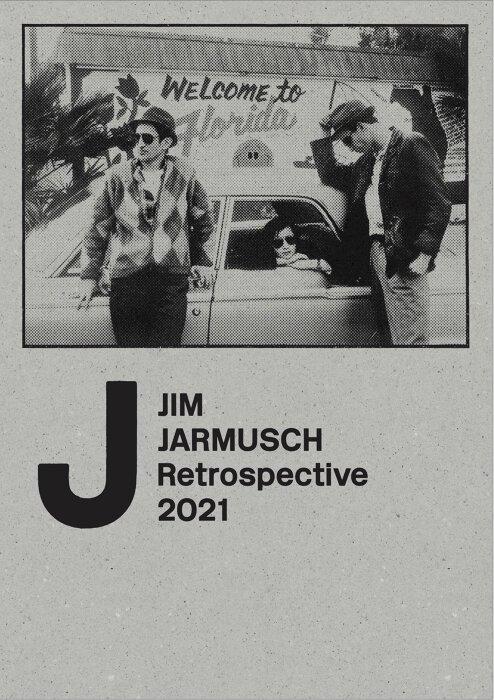 『JIM JARMUSCH Retrospective 2021』パンフレット表紙
