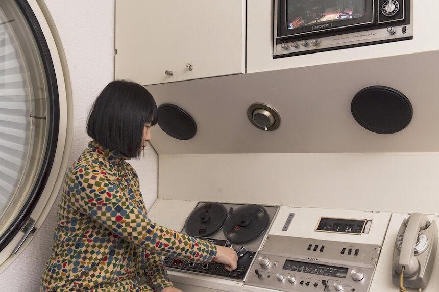 中銀カプセルタワービル(提供:蔵プロダクション ZOH Production)