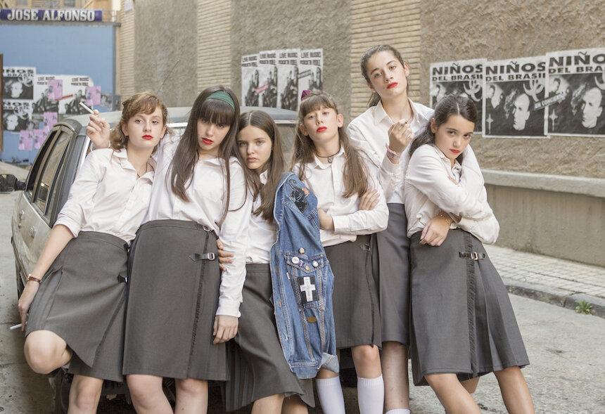 『スクールガールズ』 ©2020 Inicia Films, Bteam Prods, Las Niñas Majicas AIE