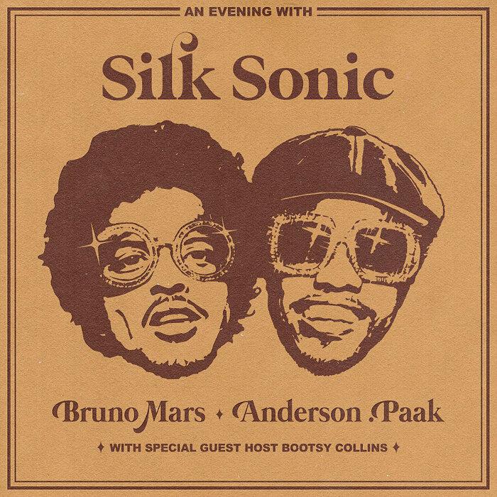Silk Sonic『Skate』ジャケット