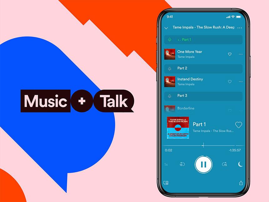 Spotify、音楽とトークを同時に楽しめる新機能「Music + Talk」提供開始
