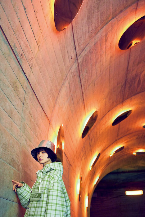 『Casa BRUTUS』2021年9月号 photo/神藤剛 ©マガジンハウス マ・ヤンソン/MAD アーキテクツ『Tunnel of Light』