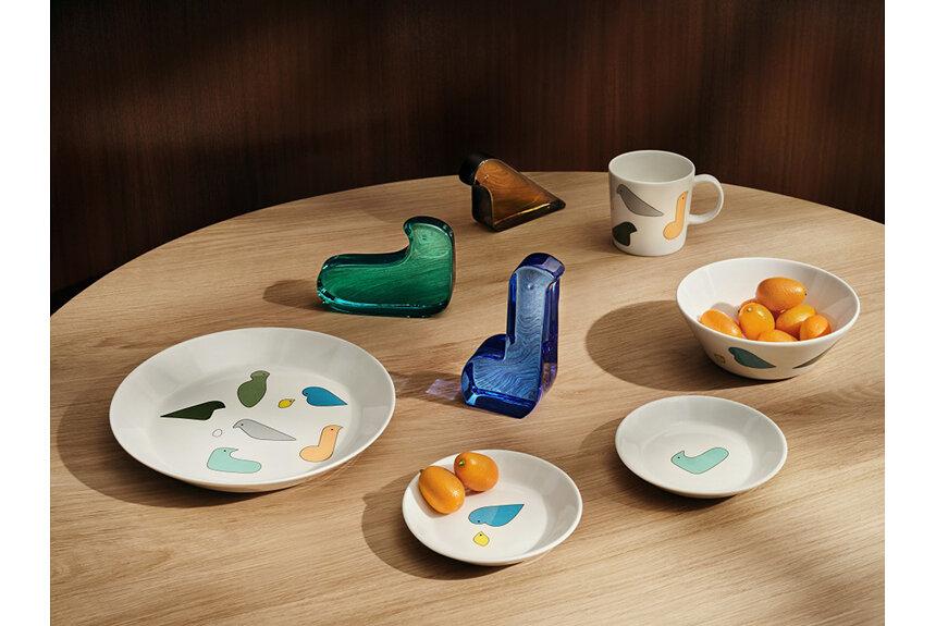 暮らしを彩る「Iittala × minä perhonen」コレクションに新作登場