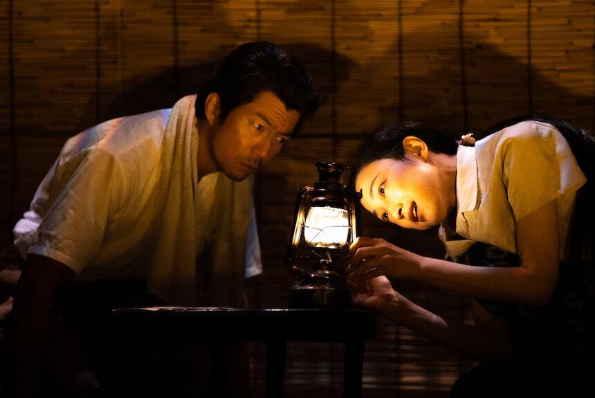 KERA×緒川たまきによるケムリ研究室の舞台『砂の女』をオンデマンド配信
