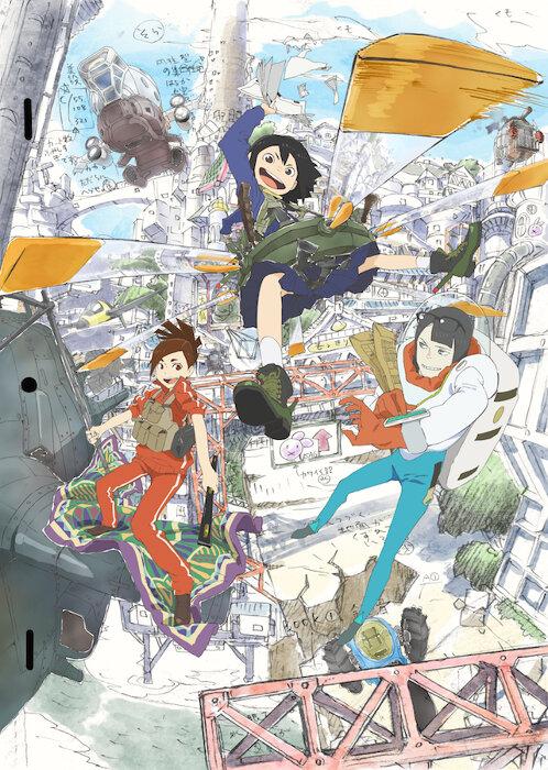 『映像研には⼿を出すな!』 ©Sumito Oowara, Shogakukan / Eizouken Committee