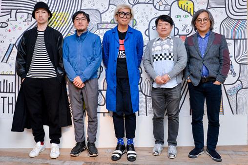 左から:エドツワキ、伊藤弘、千原徹也、ヒロ杉山、谷川じゅんじ