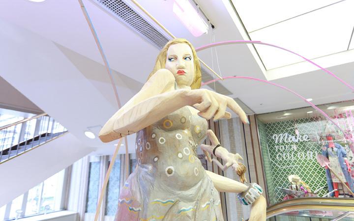 ルミネの現代アート展に見る、企業とアートの幸せな関係の可能性