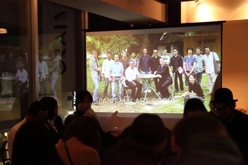『Thai Art Night:網目をくぐれ!タイの最新アート事情』の様子