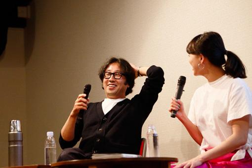 左から:藤田一浩、臼田あさ美