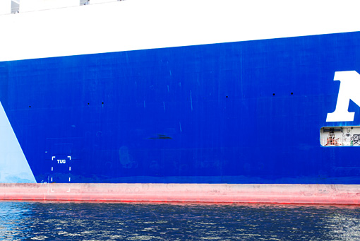 城戸保『6000台の車を載せた船』(2016年) / 『アッセンブリッジ・ナゴヤ2016』