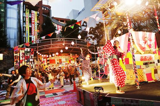 『フェスティバルFUKUSHIMA!@池袋西口公園』(写真:菊池良助)