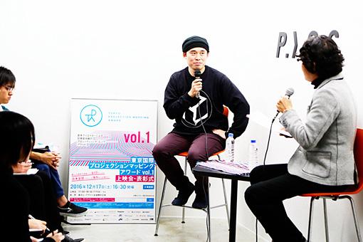 左:関和亮、右手前:深沢慶太