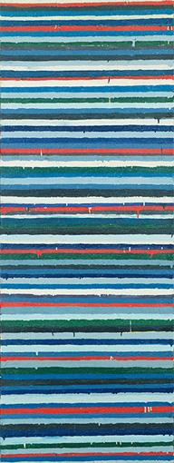 『Work C.73』1960年 油彩・キャンバス 180×68cm 東京国立近代美術館蔵