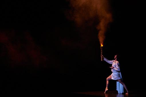 『プロメテの火』上演風景