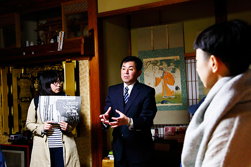 左から:はしのちづこ、小杉和也さん、雪浦聖子