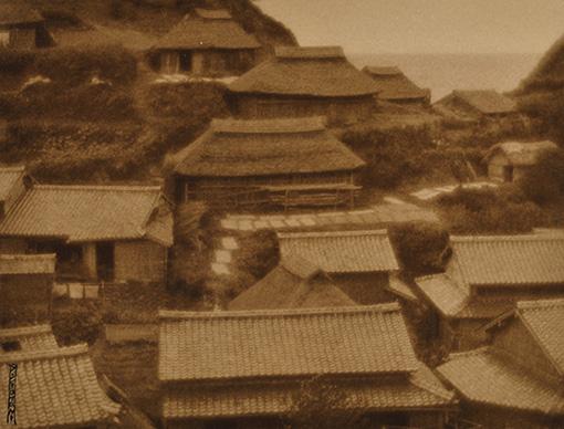『漁村』1925(大正14)年 島根県立美術館蔵
