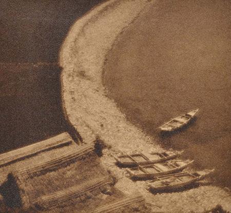 『海岸小景』1925(大正14)年 島根県立美術館蔵