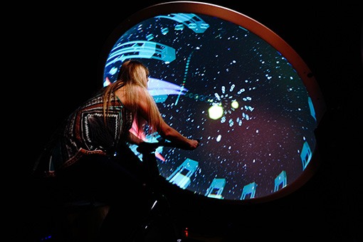 Music Visualizer & Cyber Gym