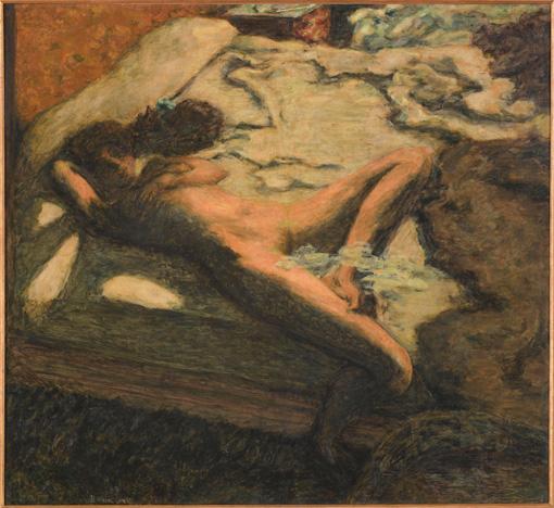 ピエール・ボナール『ベッドでまどろむ女』1899年 ©Musee d'Orsay, Dist. RMN-Grand Palais / Patrice Schmidt / distributed by AMF