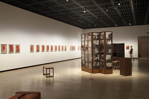 東京都写真美術館『ダヤニータ・シン インドの大きな家の美術館』展 会場風景